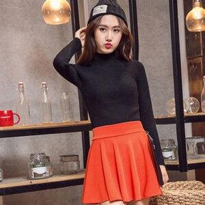 Image 3 - Dicloud Thời Trang 2019 Cao Cấp Váy Nữ Bông Tai Kẹp Mỏng Plus Kích Thước Váy Nữ Co Giãn Cổ Váy Mùa Hè