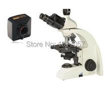 Cheaper Hot Sale,8M,Brightfield 40x-1000X USB digital biological clinical microscope with UIS plan objective 4x, 10x, 40x, 100x
