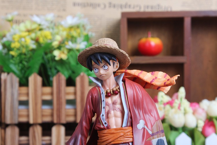 One Piece Luffy Action Figure upper