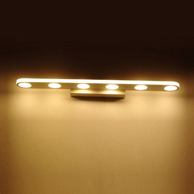 Modern Mirror Led Wall Lamp Nordic Kitchen Bathroom Sconce Led Light Fixtures For Home Lighting Decor White avize luminaria 220V