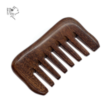 Wide Tooth Beard Comb Natural Wood Anti-static Tarak Hair Combs Hairbrush Health Massage Scalp Brush women wooden hair comb engraved natural peach wood combs anti static beard comb chinese style little gift hot sale dropshipping