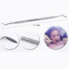 1pcs Stainless Steel Dental Tools  Teeth Tartar Scraper Mouth Mirror Dentists Pick Tool Teeth Scaler for Personal Use