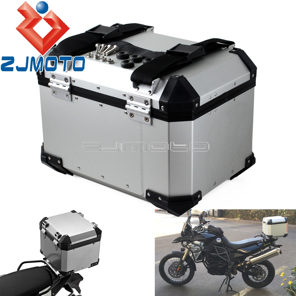 New Motorbike Top Case For BMW Box Motorcycle Aluminum Outback Monokey Trekker Cargo Tail Box