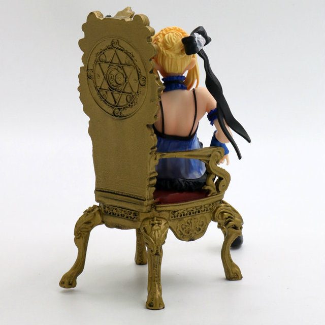 """""""Fate/stay night"""" Black Saber Throne Action Figure"""