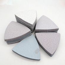 Abrasive-Tools Dry-Sandpaper Polishing Sanding-Discs Grit Grinding Triangle White