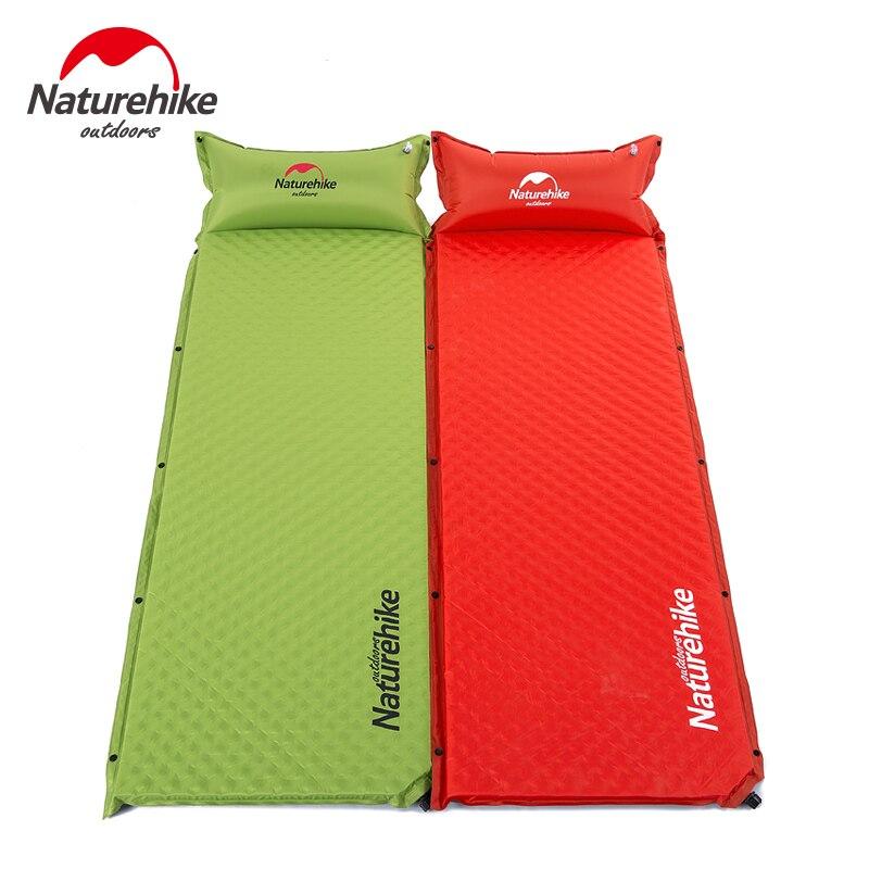 Naturehike Usine En Plein Air automatique coussin gonflable de camping tapis élargissement épaississement oeuf nid résistant à l'humidité pad épissés tapis