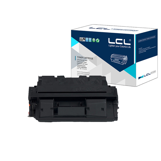 LCL 61A 61X C8061A C8061X 10000 Pages (1-Pack Black) Toner Cartridge Compatible for HP Laser Jet 4100/4100N/4100TN/4100MFP