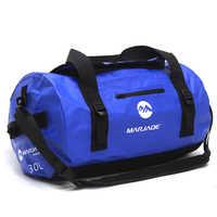 30/60/90L sac imperméable extérieur de PVC sac de stockage de sac sec pour le Rafting canoë canotage kayak rivière Trekking natation sac de voyage