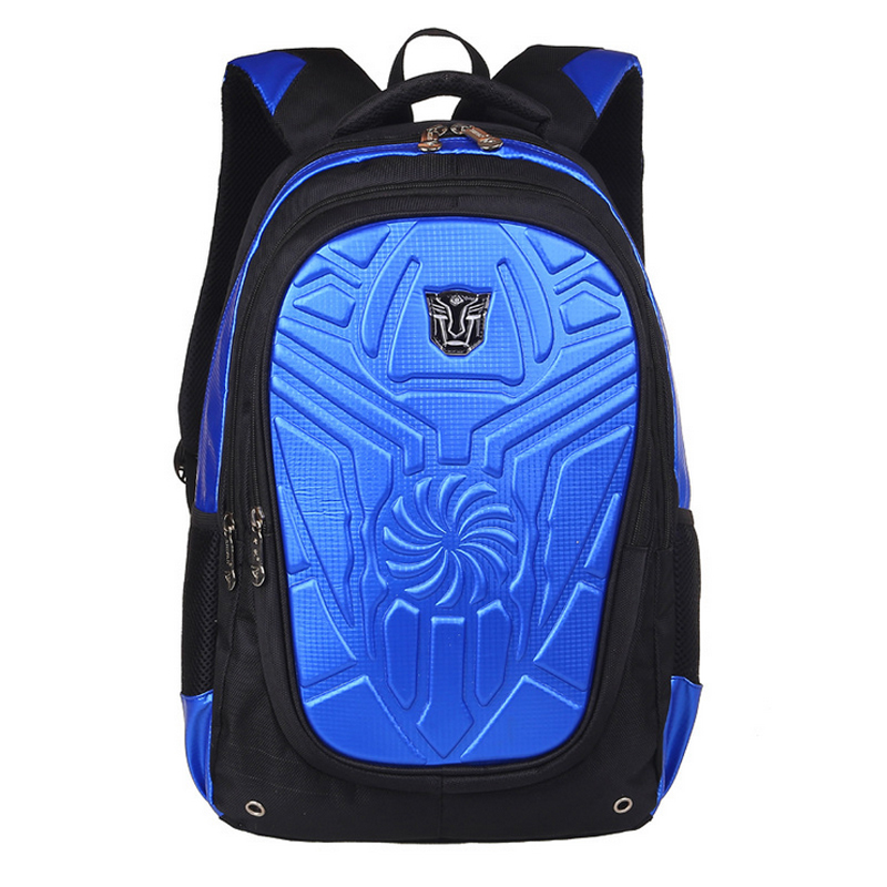 Children Boys School Bags S Backpacks Character Transformers Mochila Infantil 1 6 Grade In From Luggage