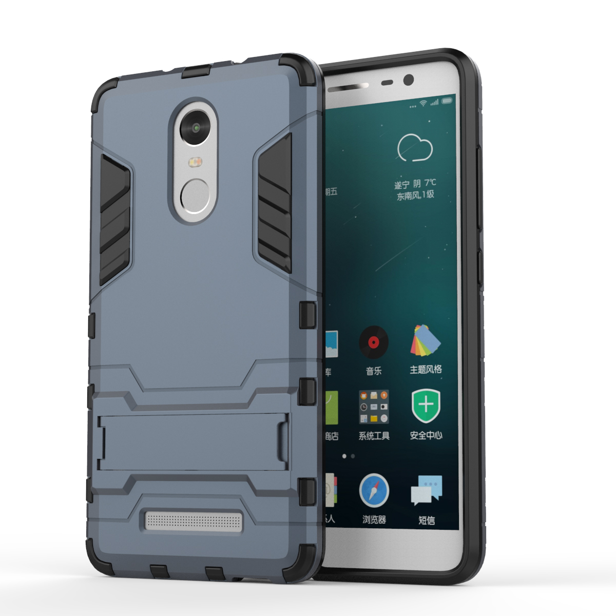 For Xiaomi Redmi Note 3 Case Slim Phone Case Shockproof Robot Armor Hybrid Rubber Hard Back Cover For Redmi Note 3 Pro Prime (