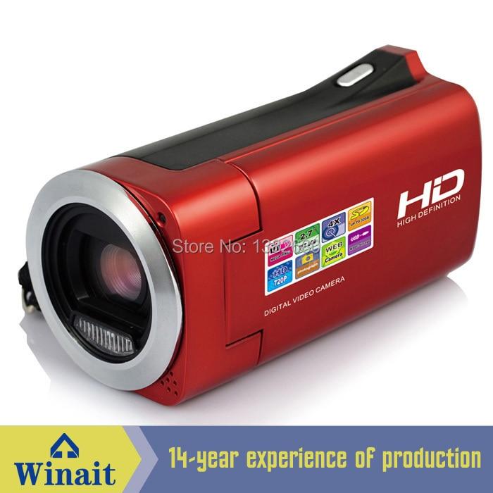 E-LIFE Technologies  Ltd. HDV828 Winait's HD digital camcorder video worlds telescopic digital video camera