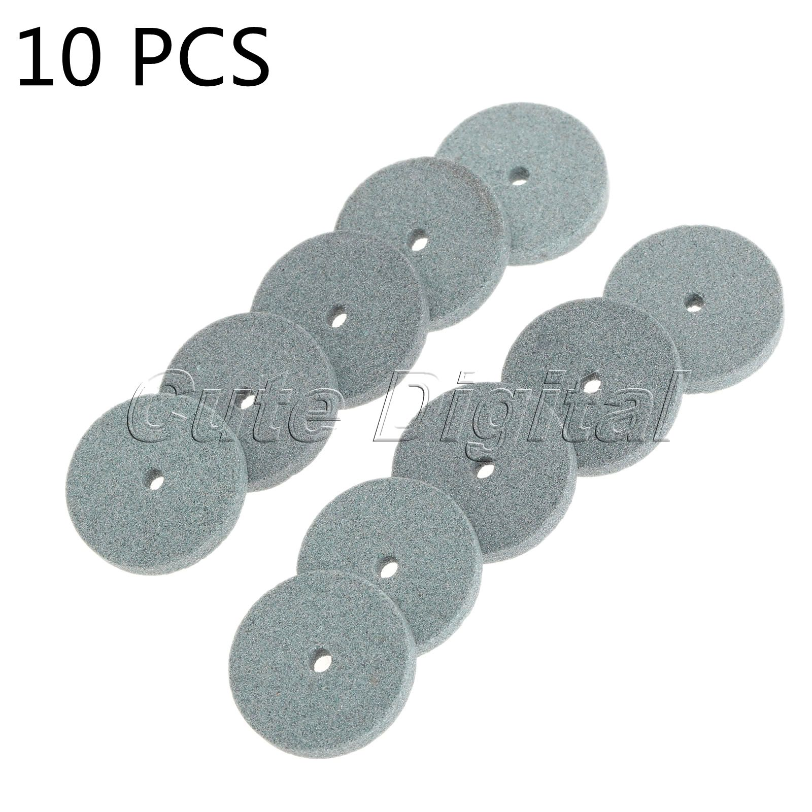 10pcs 20mm Diamond Grinding Wheel polishing dremel Mounted Stone Abrasive Tools Dremel Rotary Tool acessorios para dremel 10 pieces cylinder abrasive polishing mounted point green 12mm x 20mm x 3mm
