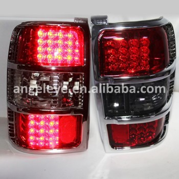 1991-1999 Year For Mitsubishi Pajero V33 V32 V31 LED Tail Lamp RED Black Color