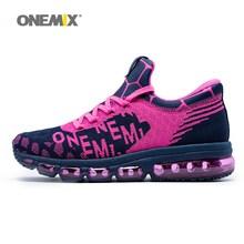 ONEMIX vrouw loopschoenen Outdoor Sport Sneakers Demping Mannelijke Atletische SchoenenZapatos deportivos femeninos vrouw jogging schoenen