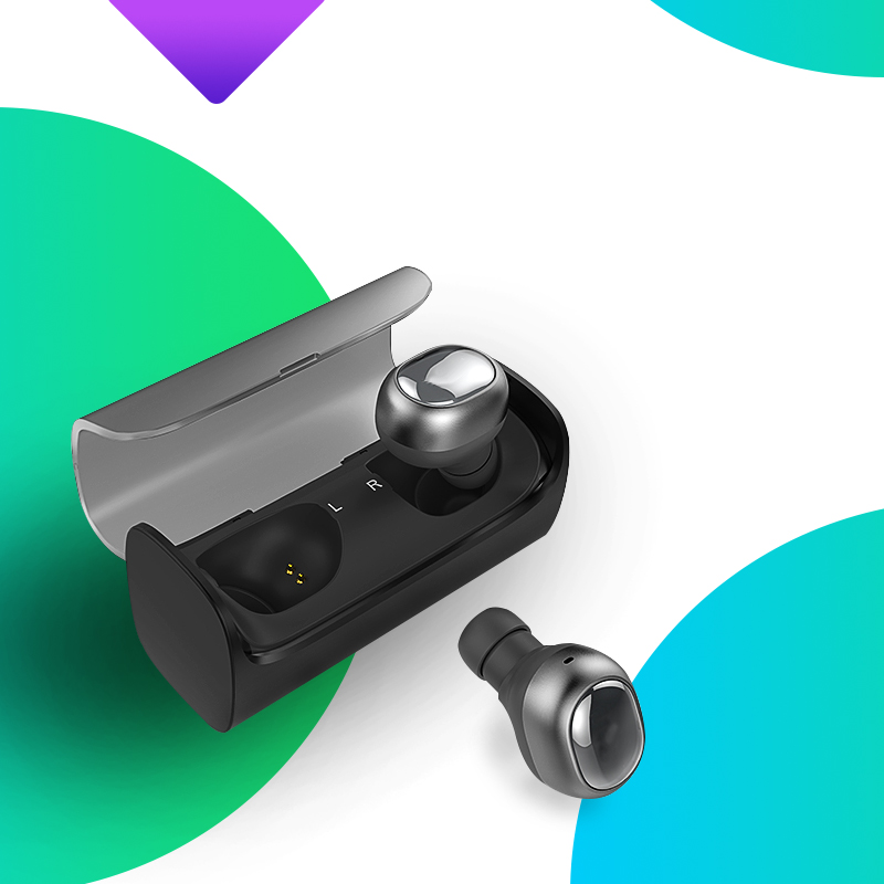 Mini Bluetooth 4.1 Headset Wireless Sport Bluetooth Earphone with Mic In Ear noise reduction Earbuds