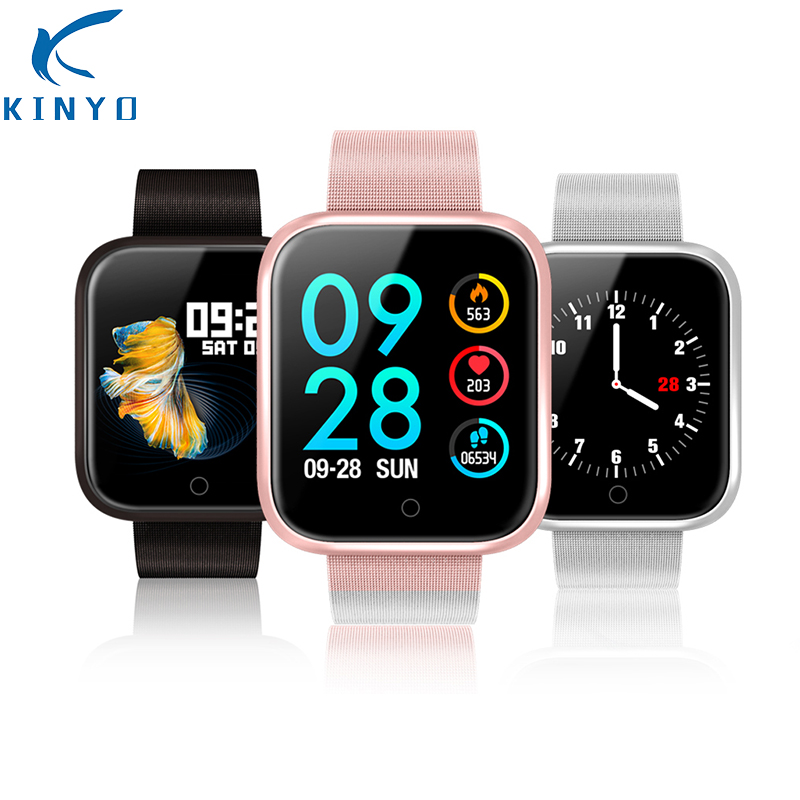 Colorful health monitor smart wristband heart rate smart bracelet 15 days long standby smart band watch