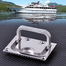 CITALL High Quality 316 Stainless Steel for Boat Marine Caravan Flush Hatch Locker Cabinet Lift Pull Handle Hardware