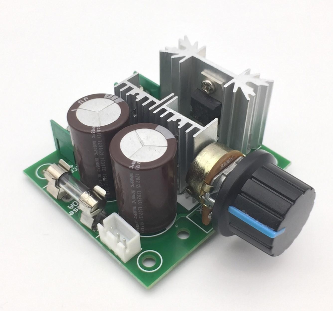 12V-40V 10A Pulse Width Modulation PWM DC Motor Speed Control Switch USA