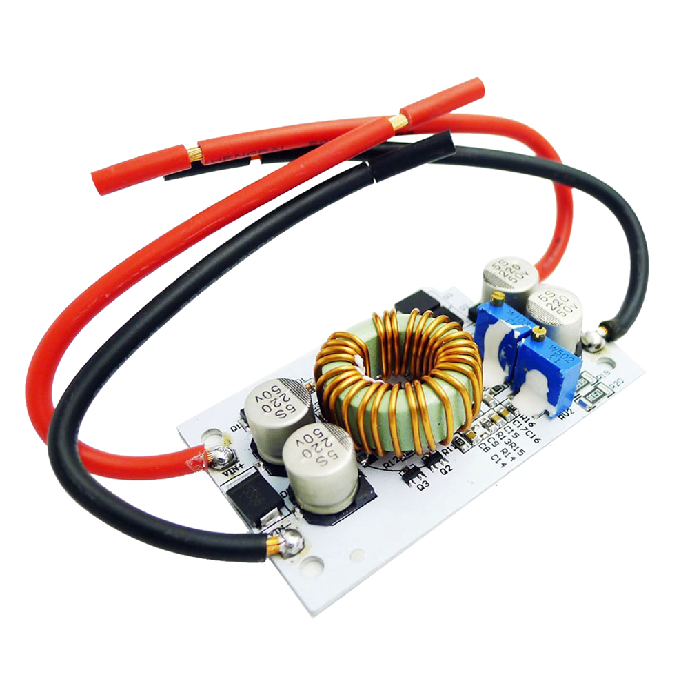 250W Boost Converter DC/DC 8.5-48V to 12-50V Output Step-up Module Mobile Power Supply Max 10A 5pcs mt3608 dc dc step up converter booster power supply module boost step up board max output 28v 2a for arduino