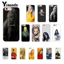 Yinuoda Billie Eilish Hot Music Singer Star Colorful Cute Phone Case for iPhone 8 7 6 6S Plus X XS MAX 5 5S SE XR 10 Cover(China)