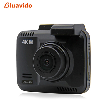 Bluavido 4K Car DVR Full HD 2160P Night Vision Video Camera Recorder GPS Logger Novatek 96660 Vehicle 1080P Dashcam WiFi monitor image
