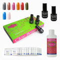 SONP 023 Remover Wraps Cleanser Plus Top Base Coat UV Led Nail Gel Polish Nail Lacquer Soak Off UV Gel Nail Polish