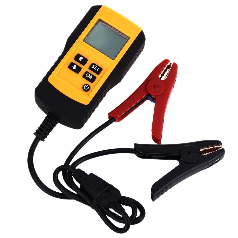 Nexanic Digital Auto 12V Auto Electricity Car Battery Tester Diagnostic Tool