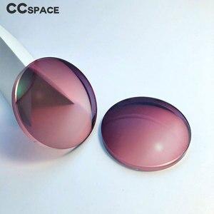Image 2 - Par de lentes ópticas teñidas para presbicia miopía, graduadas, resistentes A los arañazos, índice 1,56 1,61 1,67