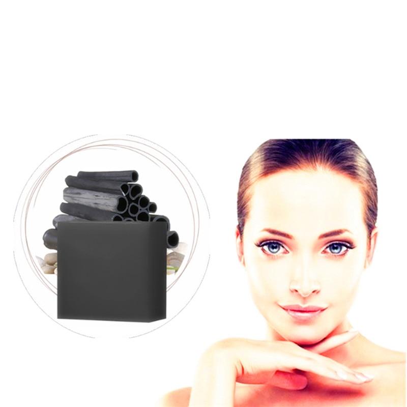 Bamboo Charcoal Green Tea Hyaluronic Acid Facial Soap Nourishing Herbal Medicine Foam Moisturizing Face Wash Anti-Spots Marks