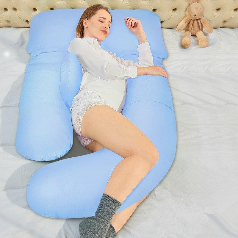 U Maternity Waist Back Support Pillows Pregnancy Sleeping