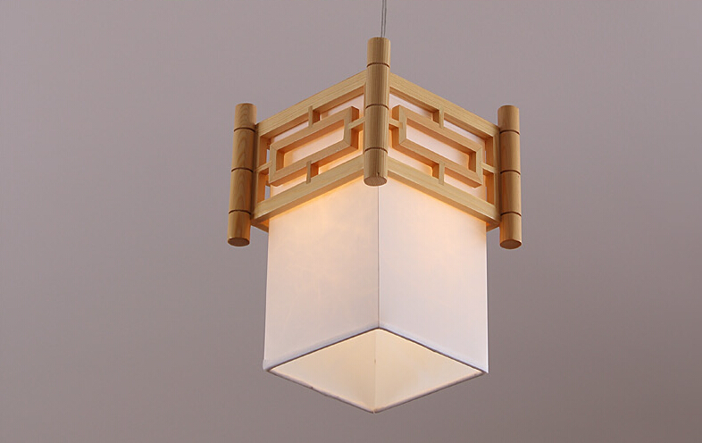 Japanese Modern Pendant Light Washitsu Tatami Decor Wooden Shoji Lamp Restaurant Dining Room Hallway Japan Lighting and lantern japanese ceiling lights mahogany finish shoji lamp wood paper washitsu tatami decor living room indoor lantern lamp lighting