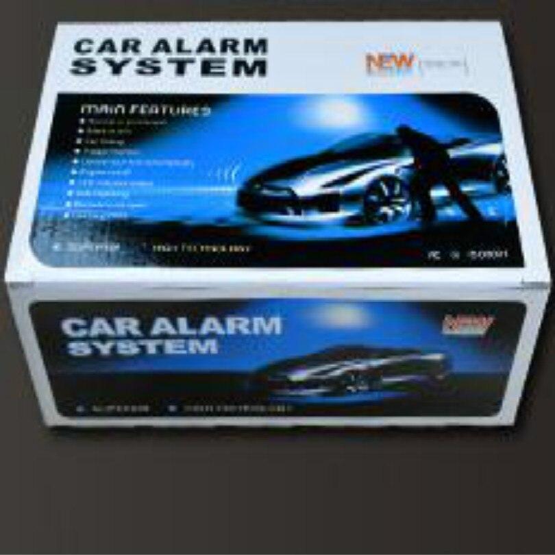 Système d'alarme de voiture 12 v alarme de verrouillage central automatique alarme de carro alarme automatique avec télécommande instructions en anglais - 2