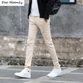 DEE MOONLY Fashion Men Casual Pants Brand Big Size Pants Men Business Trousers Mens Cotton Summer Pants Khaki Pant For Man