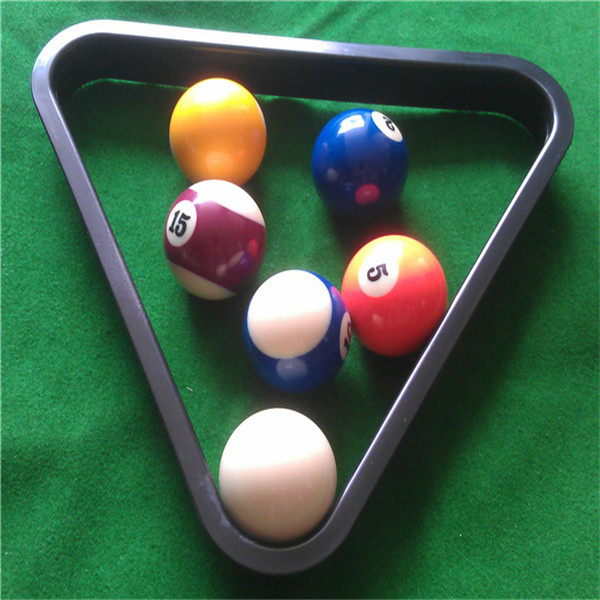 The Snooker (English) 8 Ball Pool Billiard Table Rack Triangle Rack  Standard Sports Entertainment In Snooker U0026 Billiard Accessories From Sports  ...