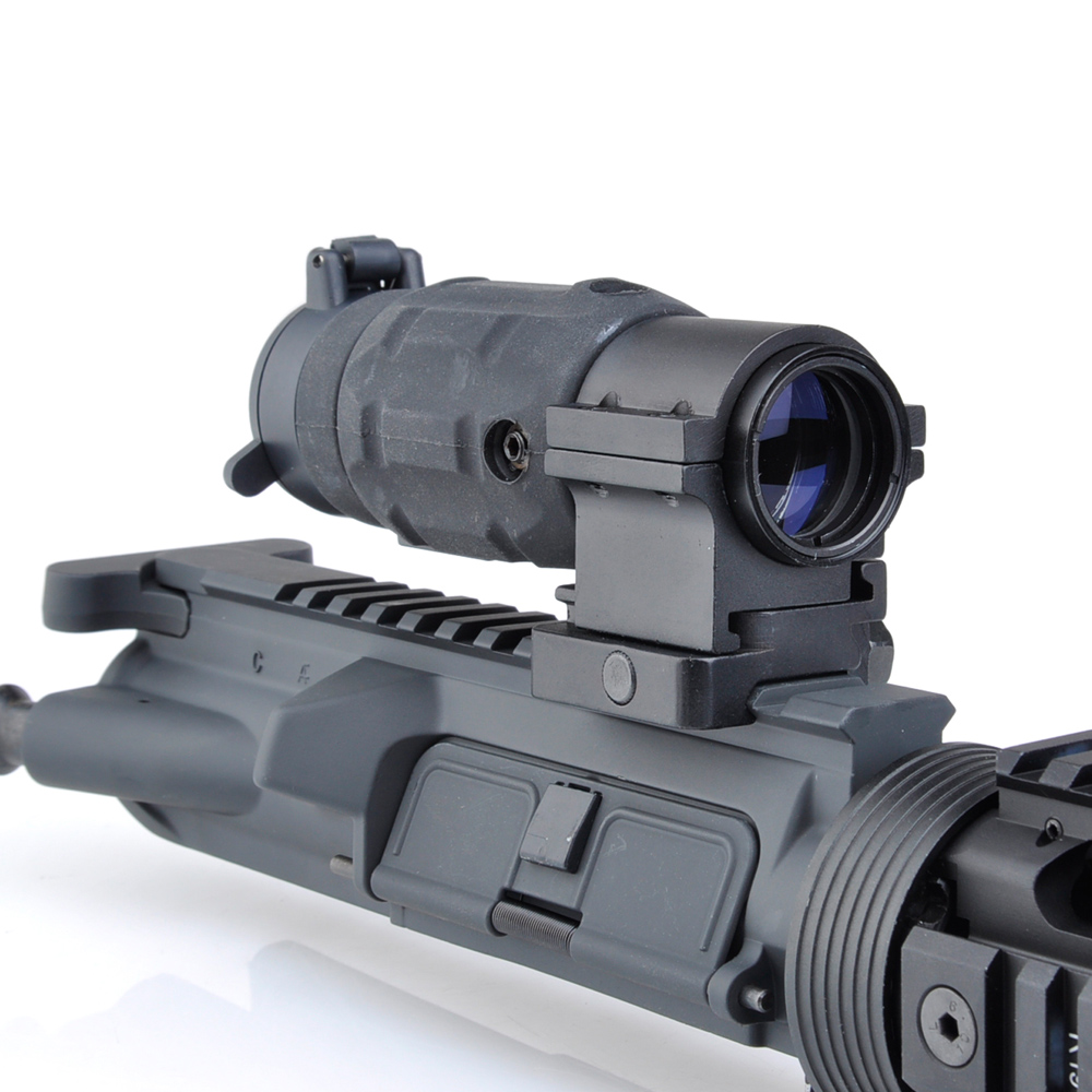 WIPSON Tactical Hunting Aim red dot optic sight Gun holographic Rifle Scope AP Style 3X Magnifier With QD Twist RIS weaver Mount wipson tactical qd fts 4x magnifier scope optics riflescope fits sight with flip to side picatinny weaver rail mount wp5338