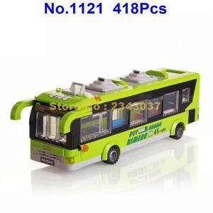 Image 3 -  418pcs city bus station enlighten building block 4  Toy