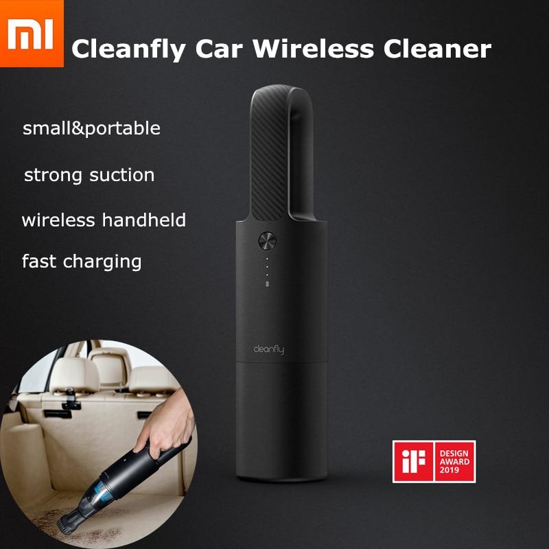 Xiaomi Mijia Cleanfly FVQ Wireless Handheld Vacuum Cleaner Mi Portable Mini Car Autos Home Cordless Carpet Sofa Dust Cleaner