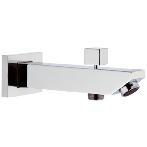 Wholesale And Retail Luxurious Solid Brass Construction Chrome Finished Wall Mounted Bathroom Shower Mixer Tub Faucet