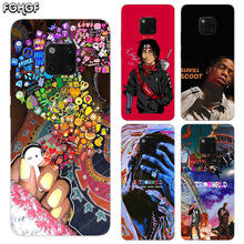 TPU Silicone Phone Back Cases For Huawei Mate 20X 20 10 9 Pro 8 7 Shell Hull Heart Bumper Cover Travis Scott Astroworld