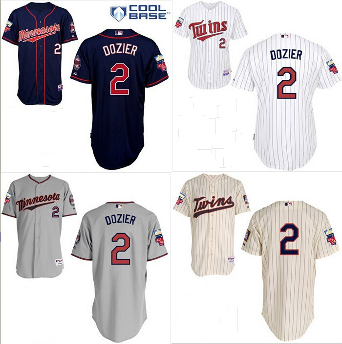 new style 19d64 320fb Cheap Authentic Minnesota Twins 2# Brian Dozier jersey/shirt ...