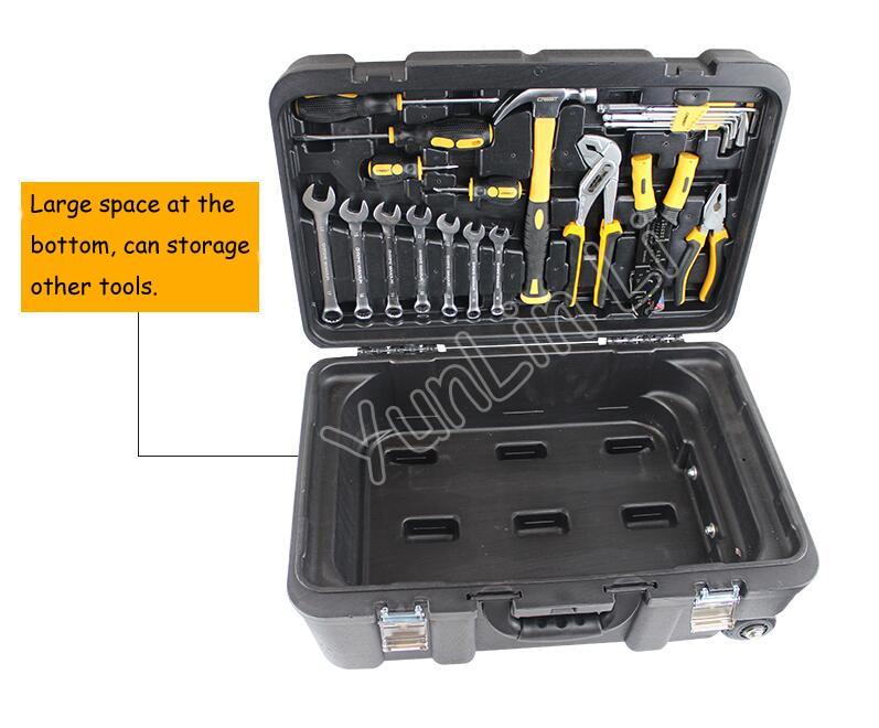 Conjunto de herramientas multifunción de mantenimiento doméstico, combinación de herramientas, destornillador, cuchillo, herramienta con caja de herramientas de laminación 105255 - 2