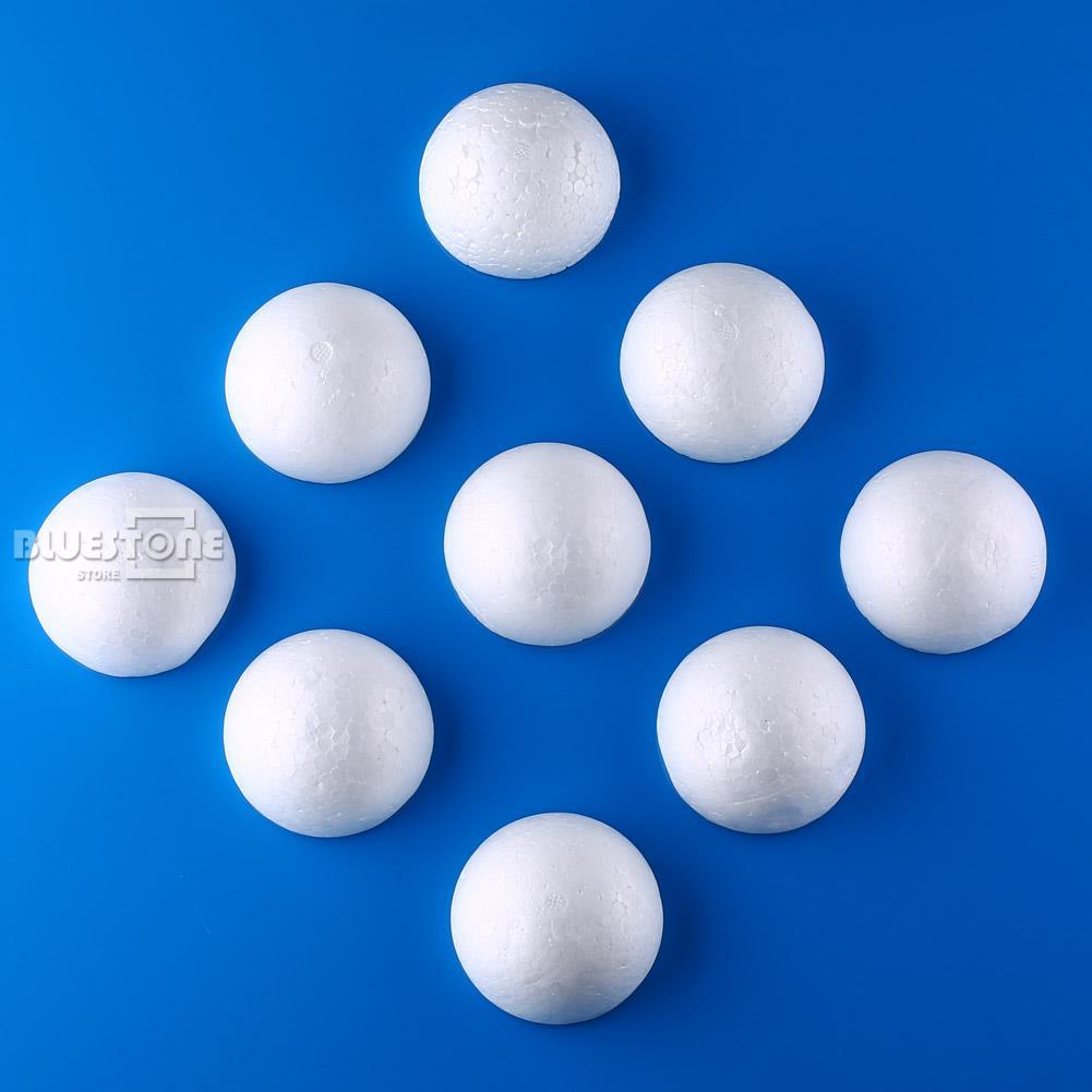 Foam ball craft - 20pcs Polystyrene Styrofoam Half Foam Ball Sphere Xmas Decoration Kids Craft Diy China Mainland