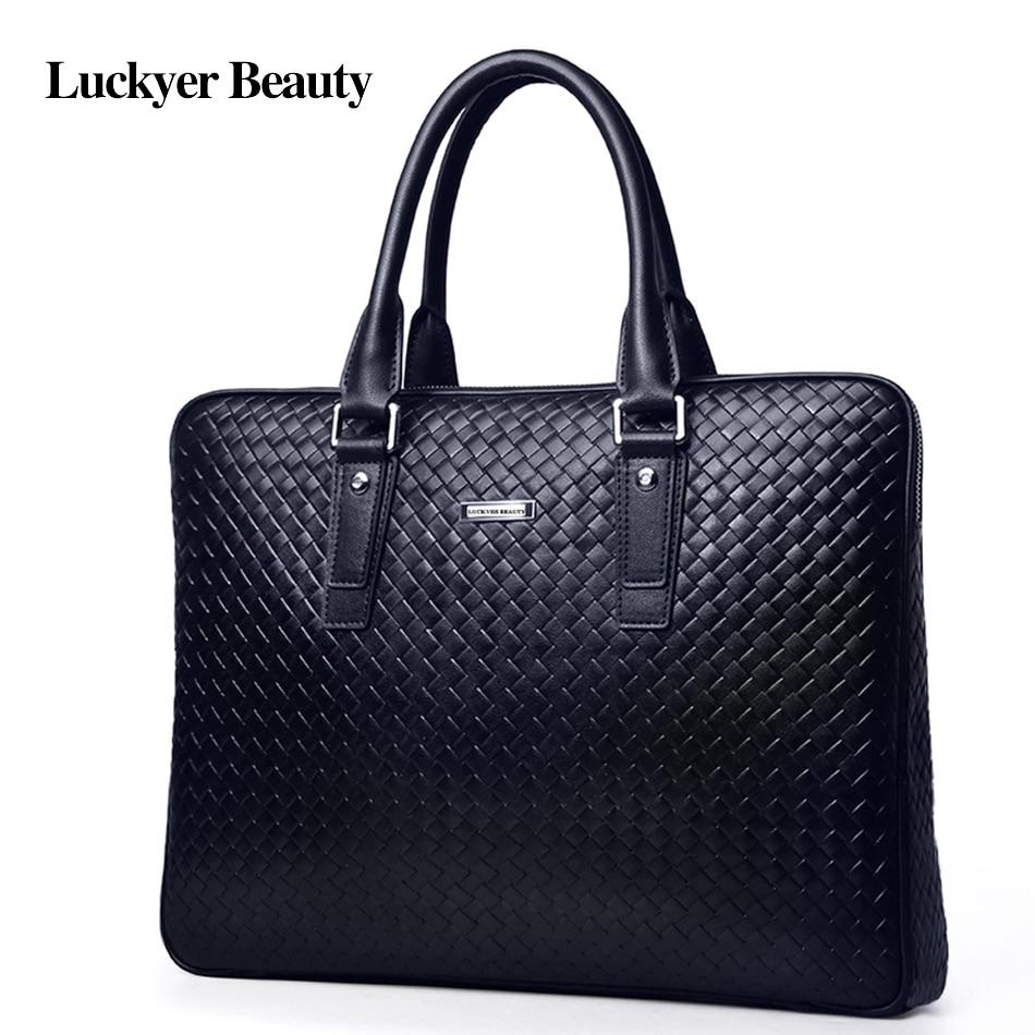 Les Luxe Sac Marque D'affaires Beauté Black Mâle Cuir Mallette Fourre Supérieure Portefeuille Chanceux Mode Hommes Pour De Qualité À En Célèbre tout Bandoulière EIzwAwWqgU