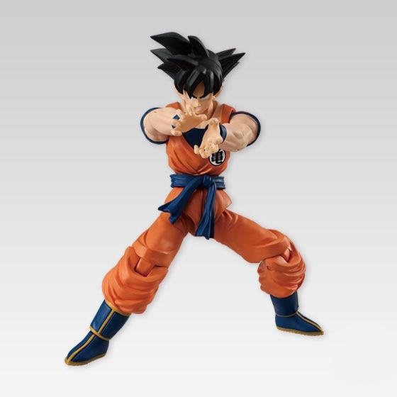 Dragon Ball Z   SHODO SHOKUGAN Vol.4 Action Figure – Son Goku Vegeta Nappa | 3.5 inch