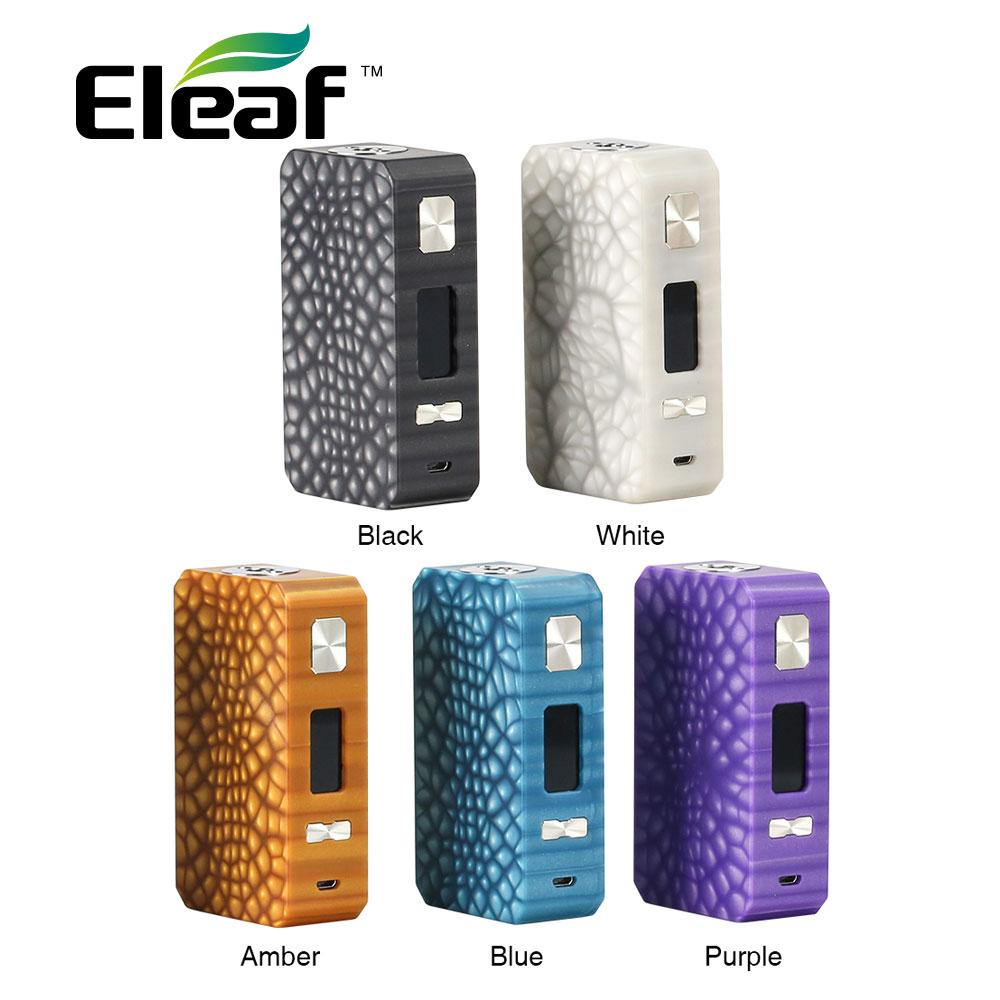 New Eleaf Saurobox MOD 220W Box Mod W/ Magnetic Battery Cover Panel & 0.96-inch TFT Color Screen No 18650 Battery Vs Ikonn 220 цена