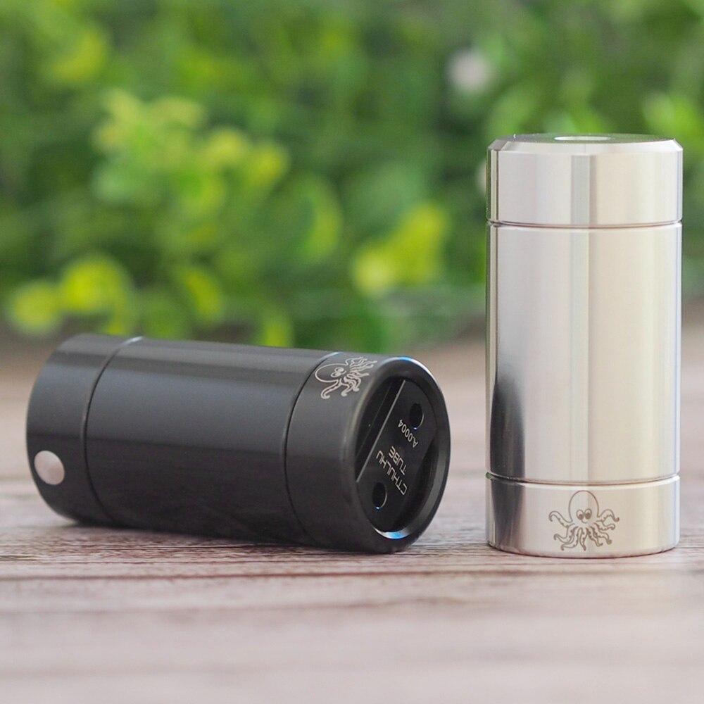 Original chaud Cthulhu Tube MOD avec Avancée Double MOSFET Puce E-cig Vaporisateur Semi-mécanique Mod Mech Mod vs Luxe Mod/Glisser 2