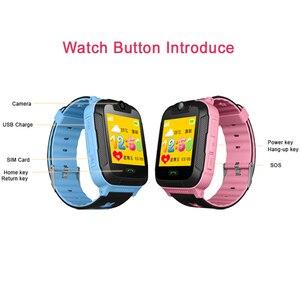 Image 3 - D1 3 グラム gps トラッカースマート子供腕時計キッズベビー gps wifi トラッカー sos スマートウォッチ子供のスマートウォッチ vs Q50 Q90