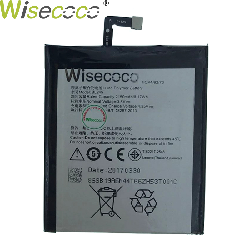 Wisecoco 2019 New BL245 Built in Battery For Lenovo S60 S60T S60W Phone Battery Replacement+ Tracking Number|Mobile Phone Batteries|   - title=
