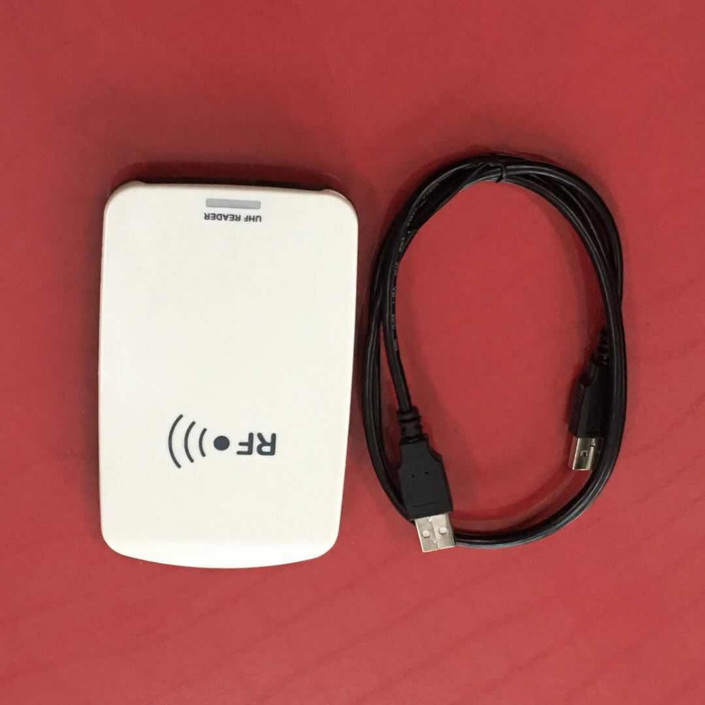 Integrated Card Contactless UHF RFID Access Control Reader Desktop Writer