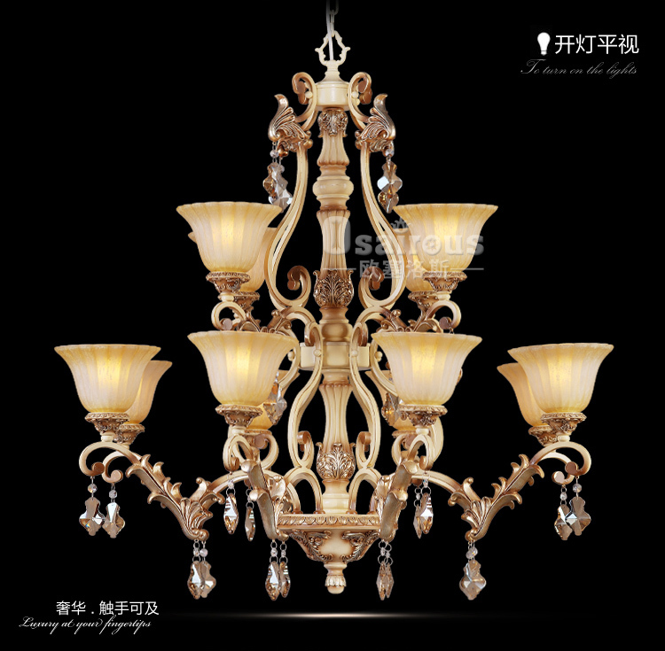 Newest T living room lights large pendant light fashion high quality brief stair lighting ZZP